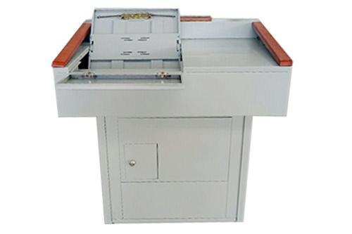 钢木多媒体讲台多功能讲桌多媒体控制台招投标参数明细