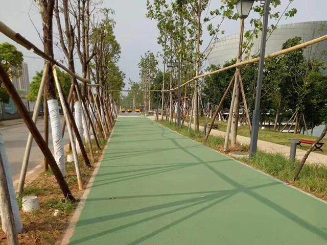 深圳彩色沥青路面摊铺修复
