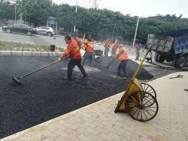 东莞沥青路面修补施工