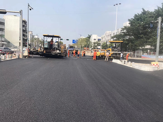 东莞横沥道路工程承包