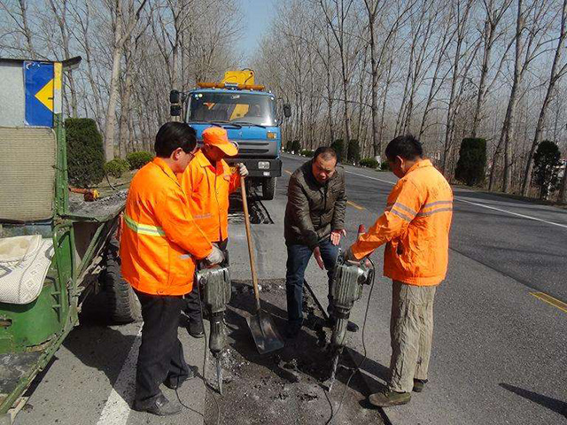 東莞常平瀝青路面施工