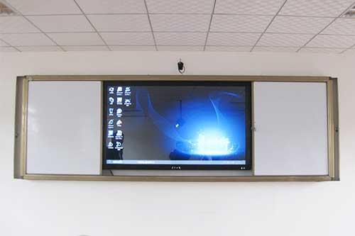 智慧教室推拉白板