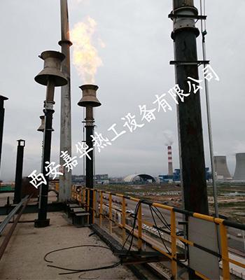 發生爐煤氣放散點火安裝完成后輸送問題