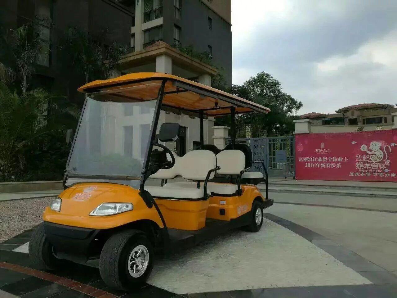 6座電動高爾夫觀光車